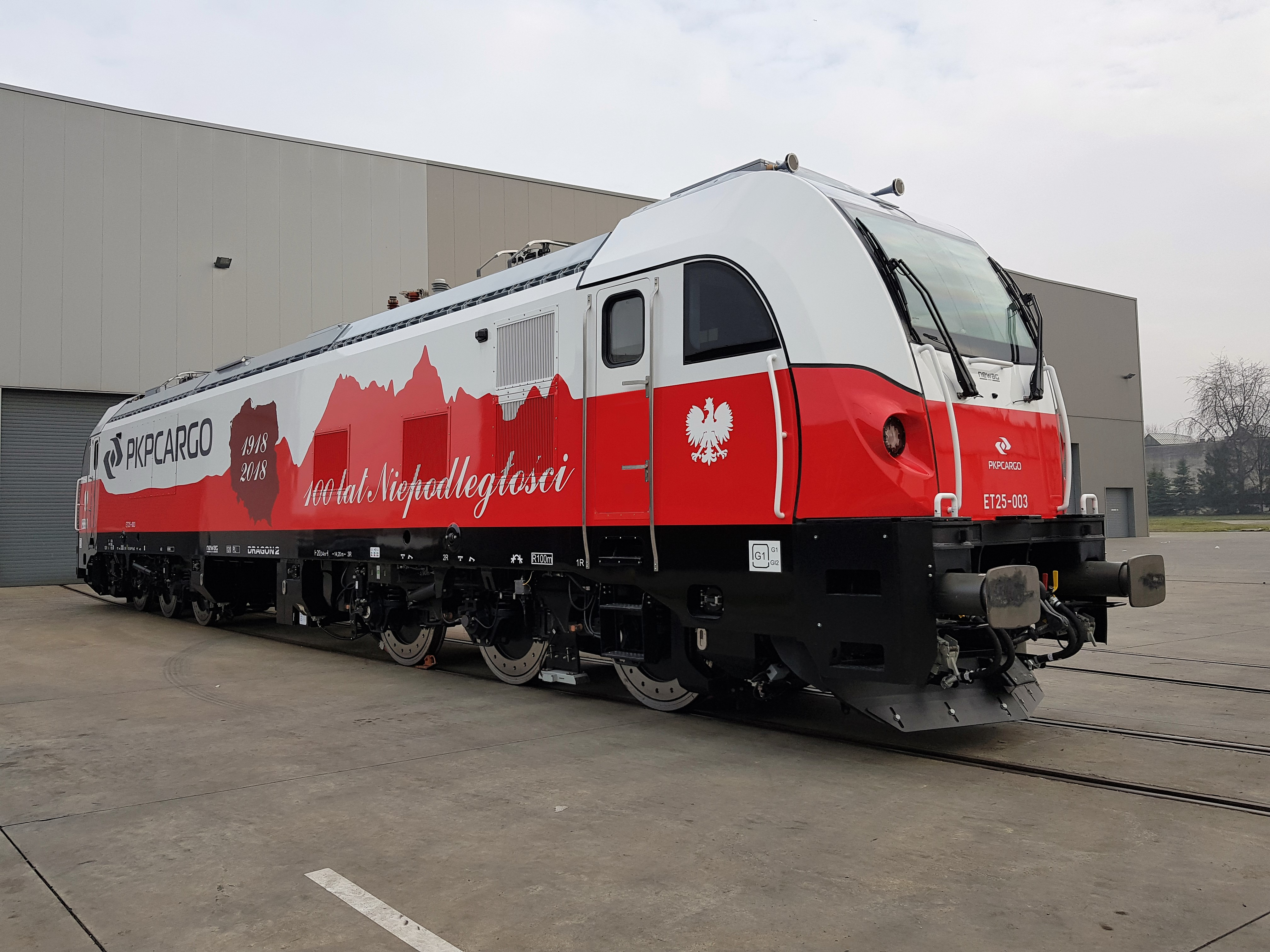 NEWAG's DRAGON 2 – the First in Europe Six-Axle Loco with License to Operate