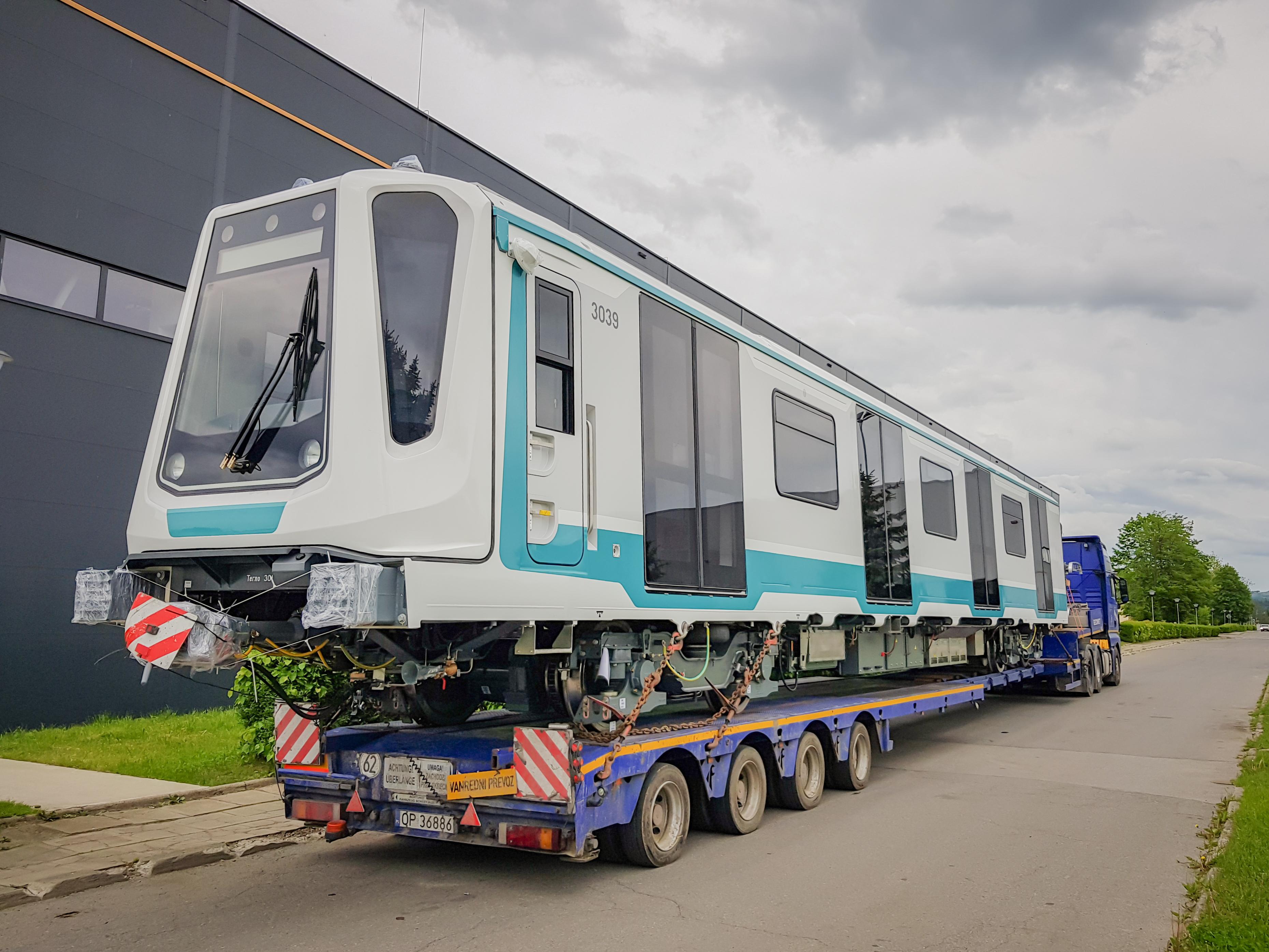 Twentieth Metro Train on its Way to Sofia