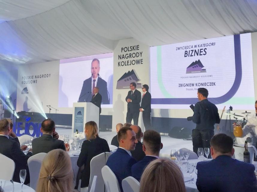 """Zbigniew Konieczek wins """"Polish Railway Awards 2019"""""""