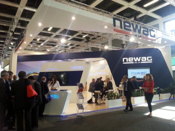 NEWAG S.A. at InnoTrans 2016 — the biggest European rail transport fair in Berlin