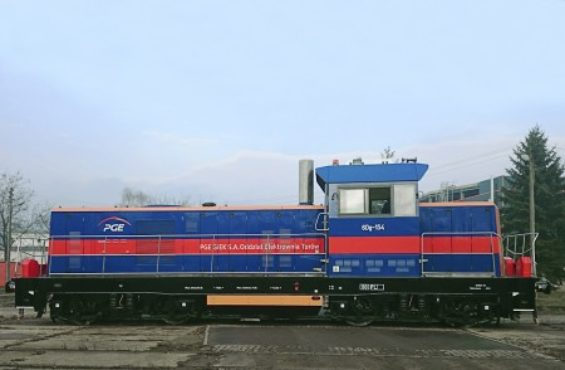 The first ordered locomotive already at PGE