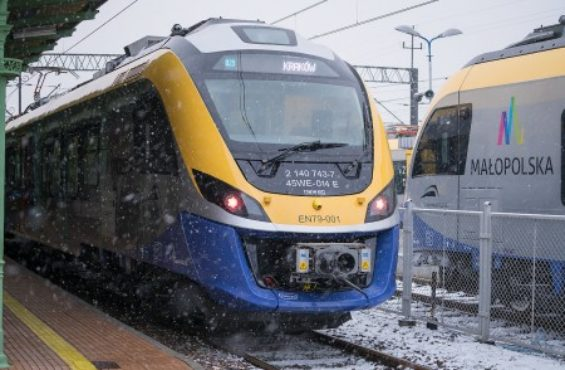 Cutting-edge IMPULS trains manufactured by NEWAG for Małopolska