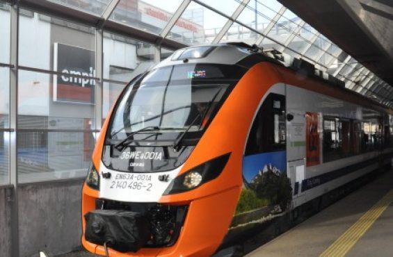 'Impuls' inaugurated train services along renovated Kraków-Zakopane train line on the Stryszów-Zembrzyce section