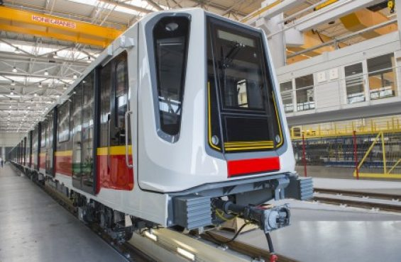 NEWAG-manufactured 'Inspiro' started carrying passengers of the first metro line in Warsaw