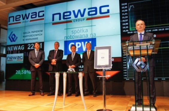 NEWAG's IPO at the Warsaw Stock Exchange