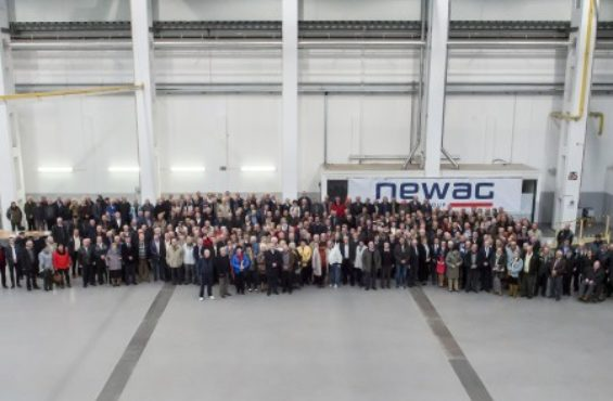 Meeting for retired NEWAG's employees