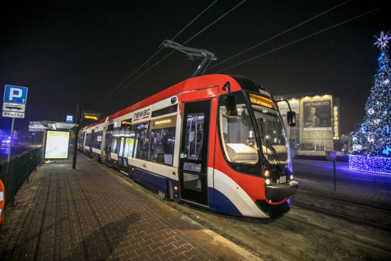 First in Poland Ride in NEWAG's Tram using Autonomous Ride Control