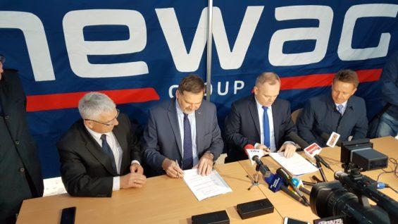 NEWAG będzie ogrzewany przez MPEC, umowa o współpracy została podpisana.