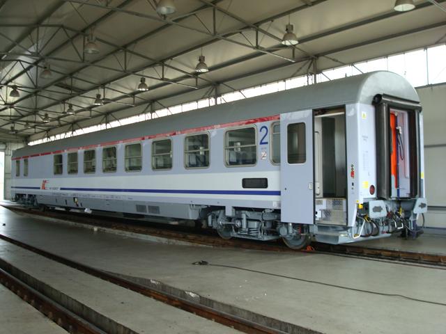 Podłączenie wagonu kolejowego
