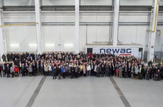 Spotkanie emerytowanych pracowników w NEWAGU