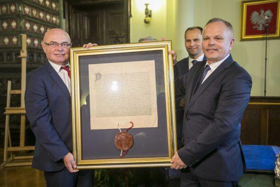 Zbigniew Konieczek Honorowym Obywatelem Miasta Nowego Sącza